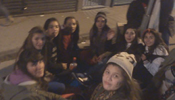 One Direction Buenos Aires fans
