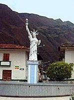 la estatua de la libertad de cutervo