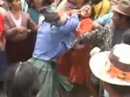 cholitas peleadoras