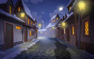 navidad calle
