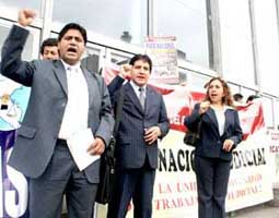 huelga poder judicial